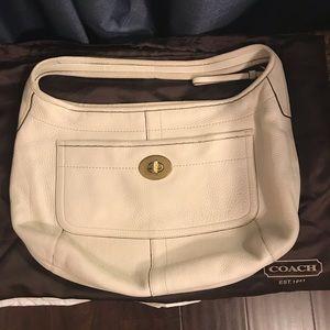 Coach large hobo bag